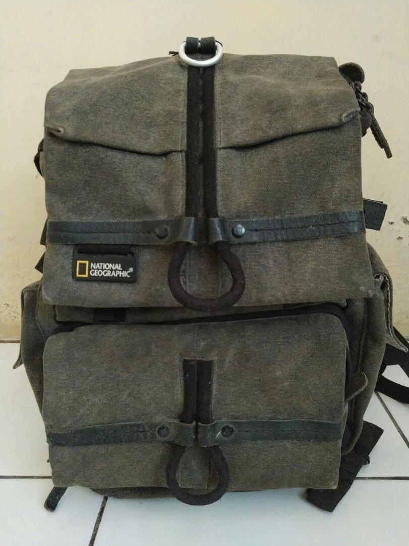 National geographic W5050 small rucksack ( include rain cover) tas ransel backpack lowepro