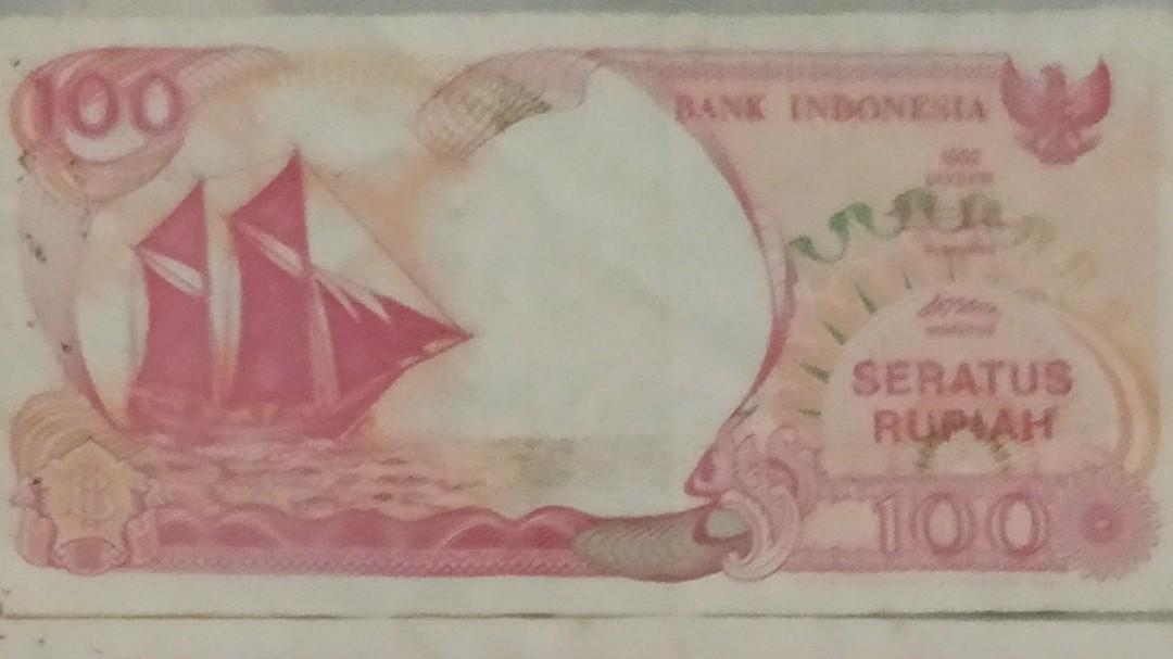 uang lama pecahan 100, 500, 1000