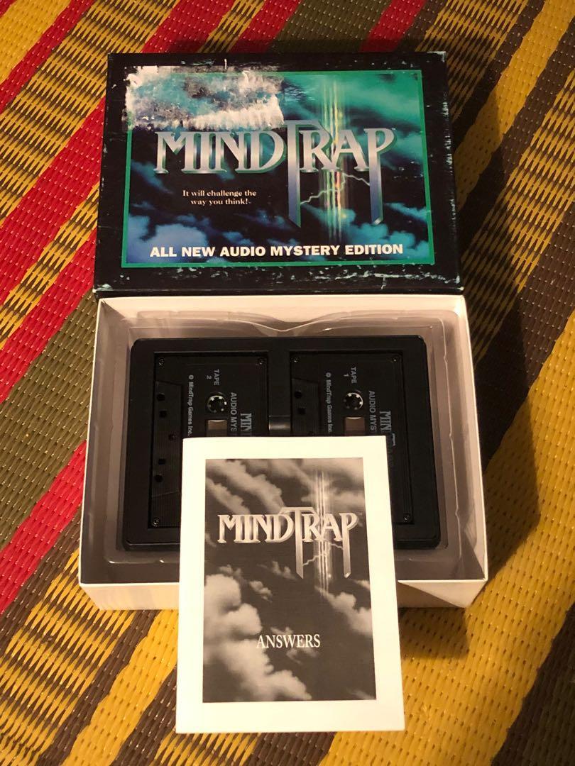 Vintage Mind Trap Double Cassette Mystery Edition 1994