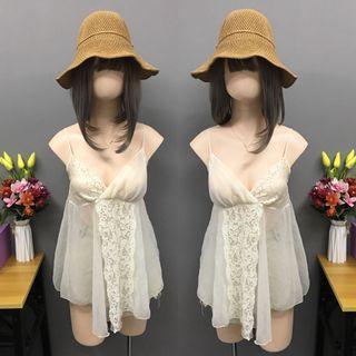 White nighties lingerie (size:medium)