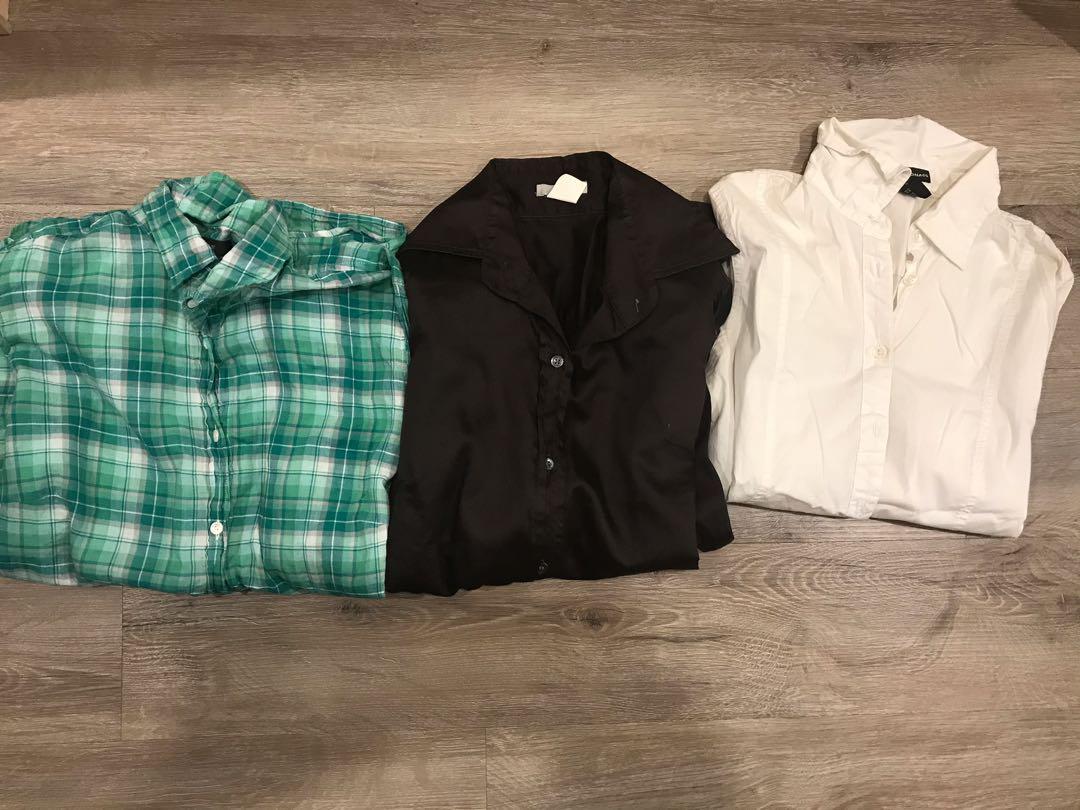 Women's button up shirts