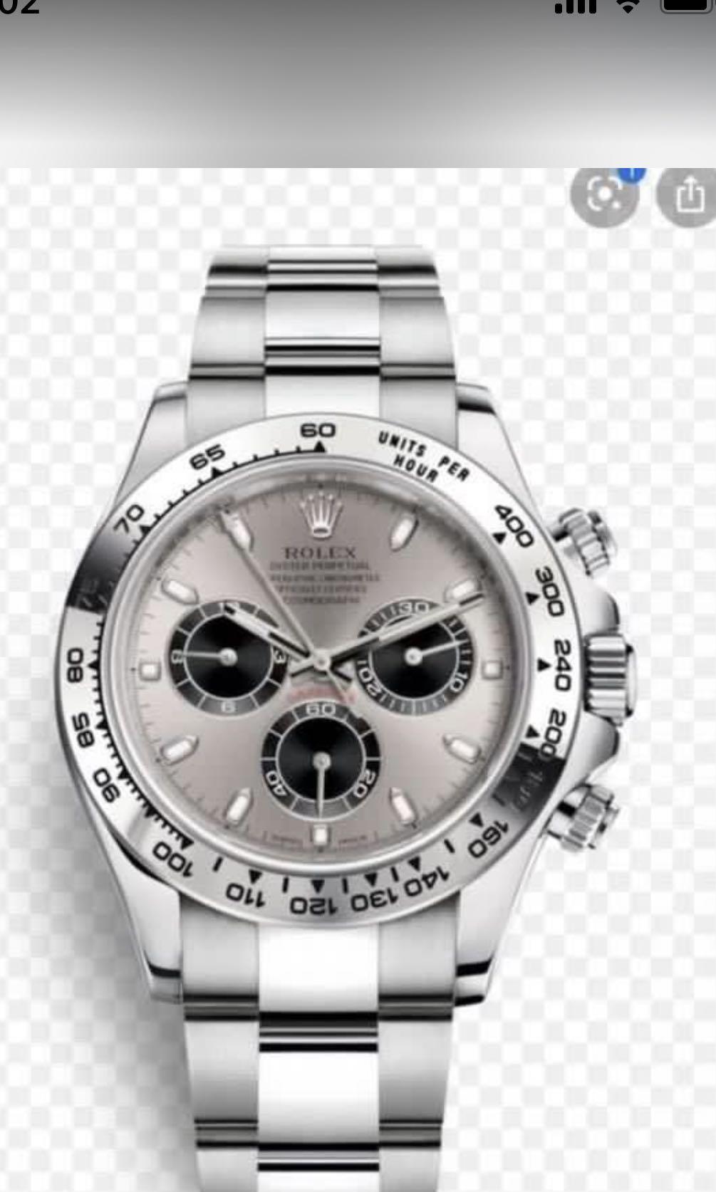 WTB Rolex Daytona 116509 WG
