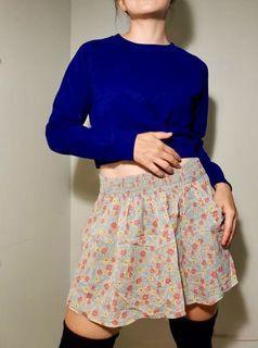 Zara Vintage Floral Skirt