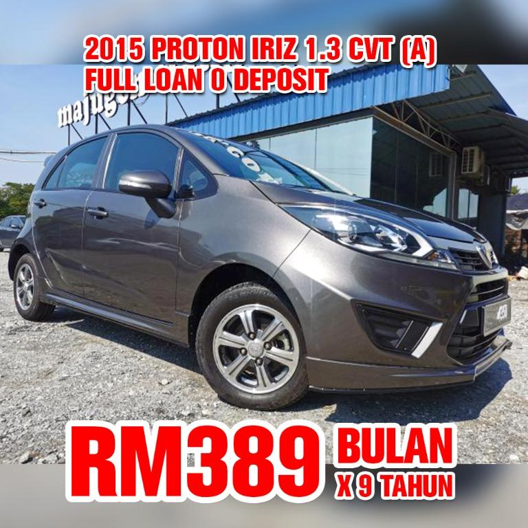 2015 Proton Iriz 1.3 CVT (Auto)
