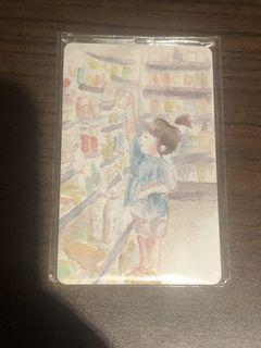 便利商店女孩悠遊卡