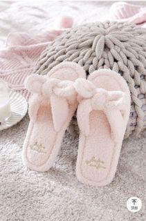 全新 韓國絨室內拖鞋