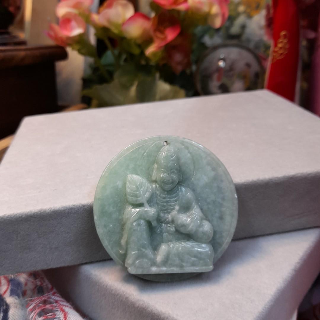 緬甸玉項鍊墜 尺寸大小照片可以提供您參考 喜歡買小會影響購買謝謝