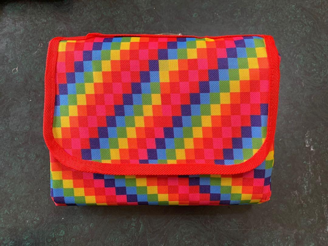 彩虹野餐墊🎈台東彩虹熱氣球同款花色 同志 LGBT 沙灘墊 露營 烤肉 彩虹商品