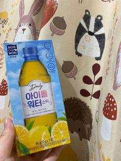 韓國 idol水 檸檬綠茶