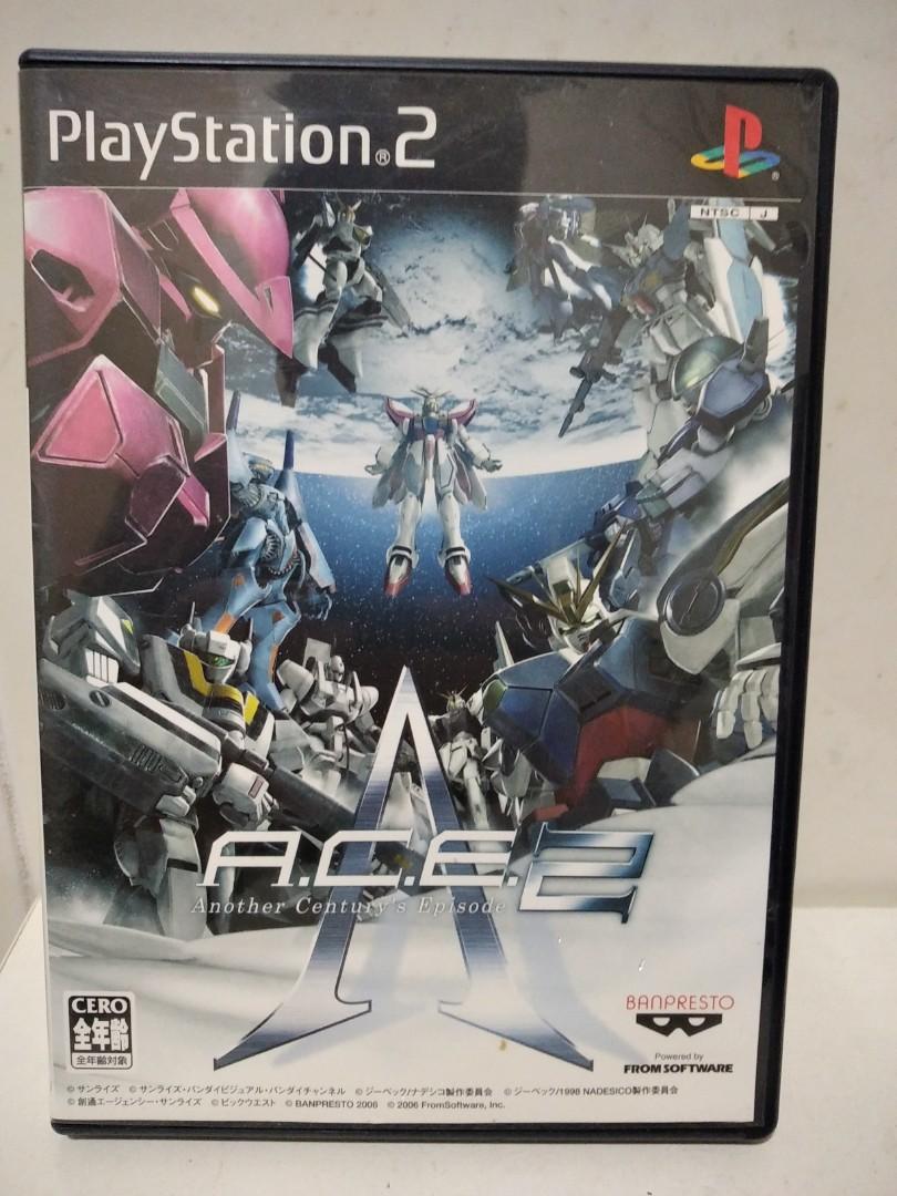 (阿清) ps2 異世界機器人大戰 ACE 2