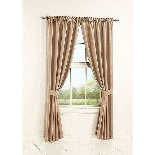 Bennett Two Panel Curtains with Tiebacks (Size 80'' x 63'')