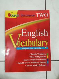 CASCO English Vocabulary (Secondary 2) Workbook