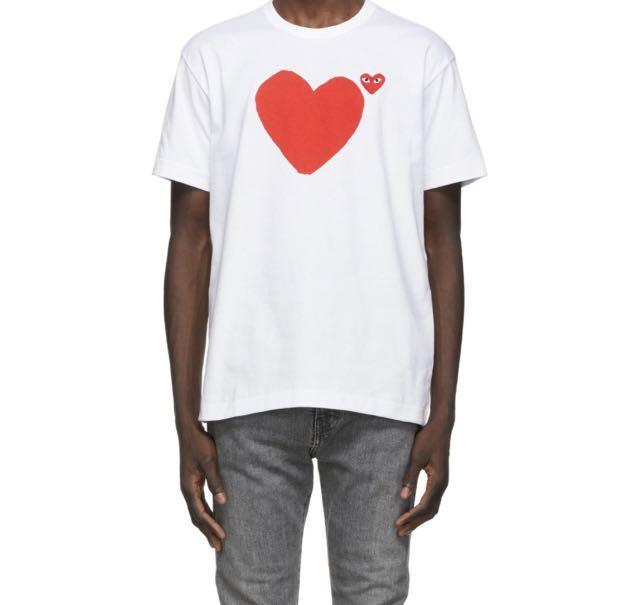CDG Tee Shirt sz S fits XS