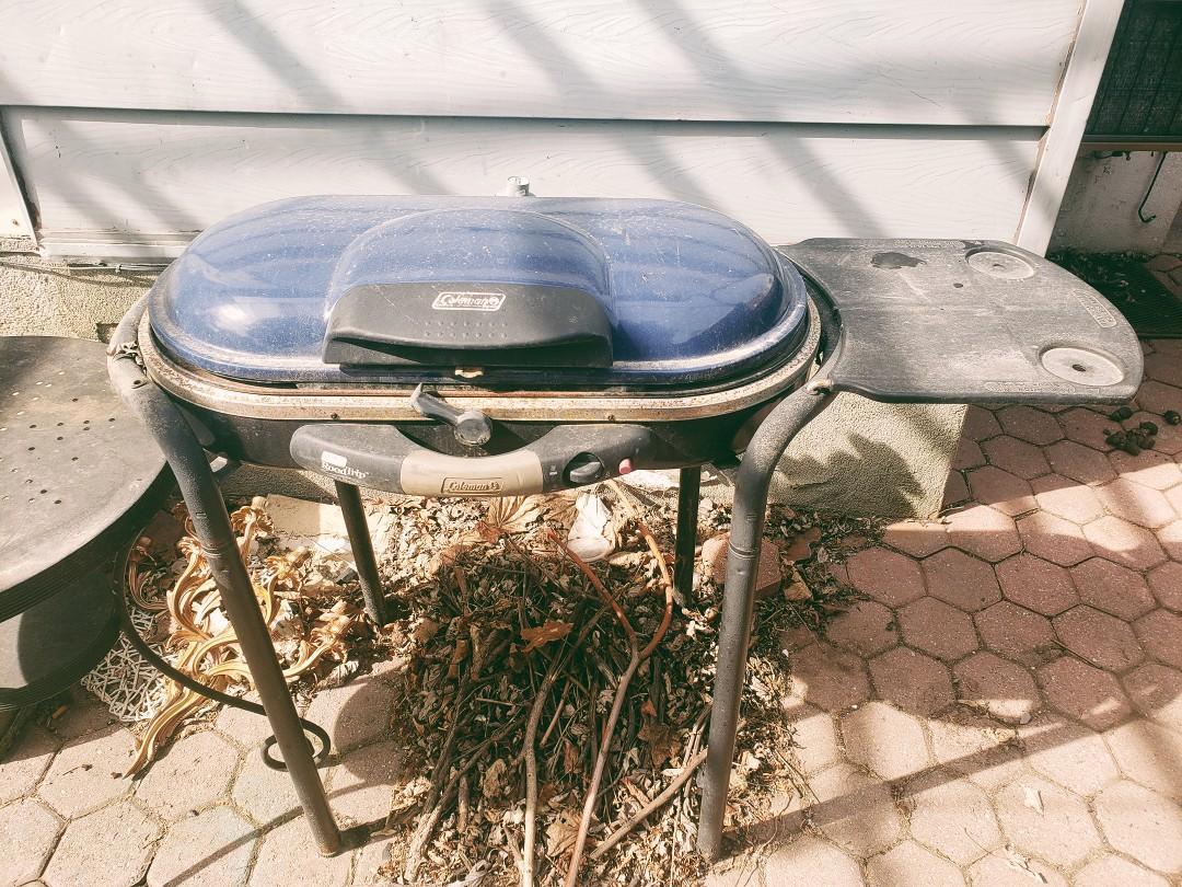 Coleman propane grill