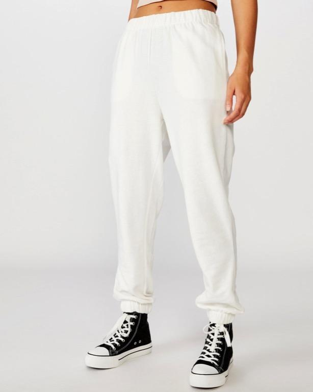 High Waisted Track Pants