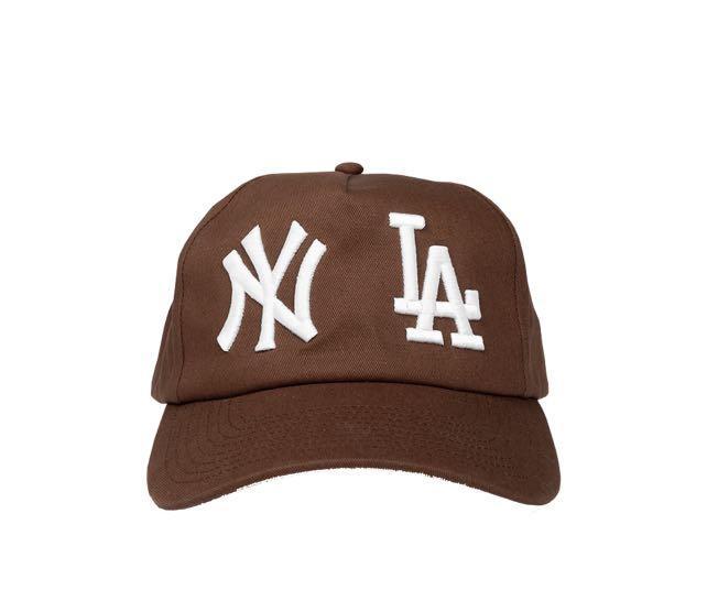 HOLIDAY BRAND NY*LA BROWN HAT