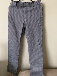 Houndstooth print pants