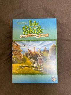 Isle of skye 斯凱島 英文版 桌遊
