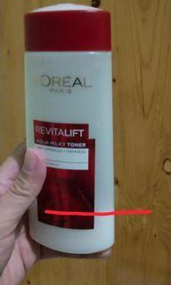 Loreal Revitalift Aqua Milk Toner