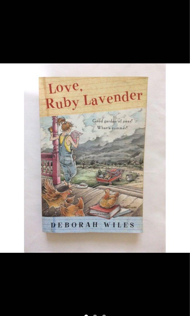 Love,Ruby Lavender二手英文童書