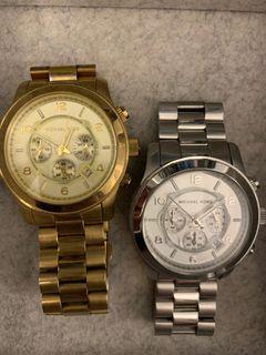 Marc Jacob's & MK watches