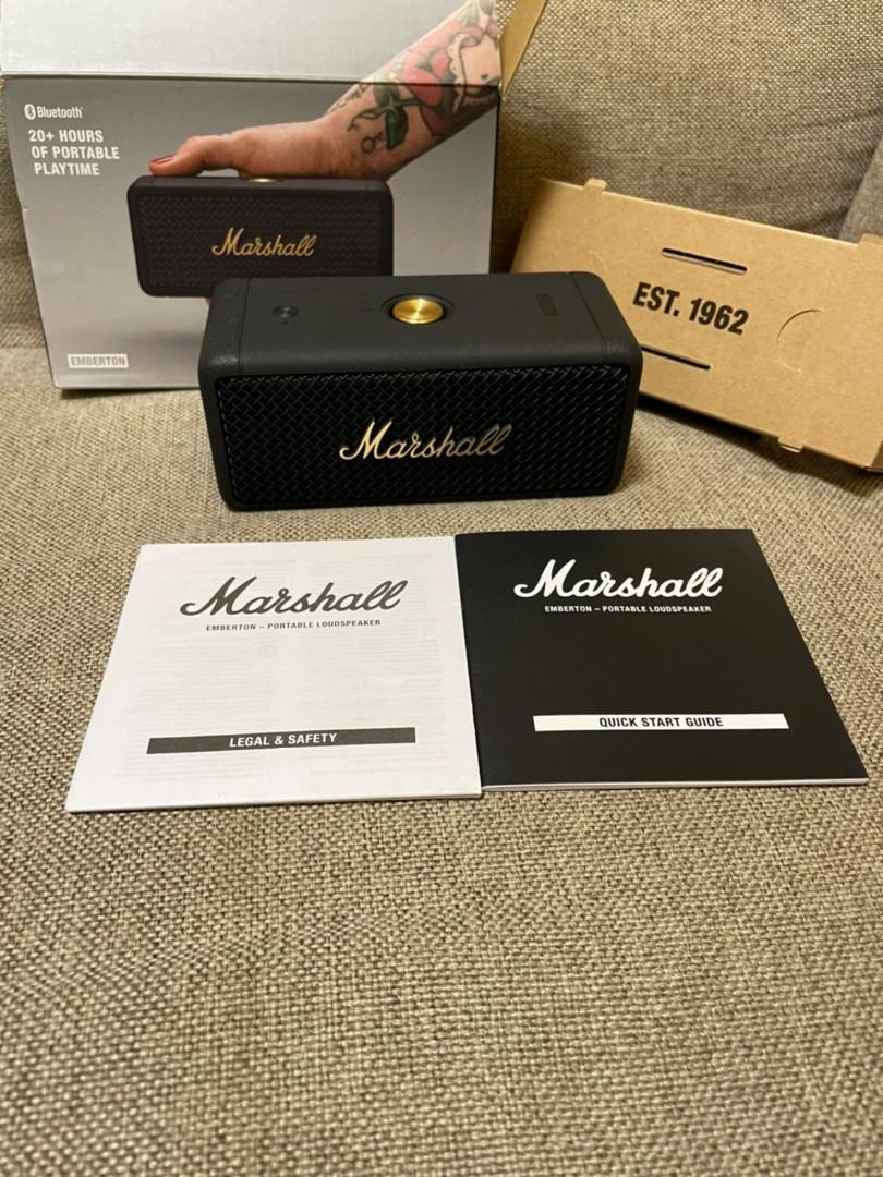 Marshall Emberton 黑金