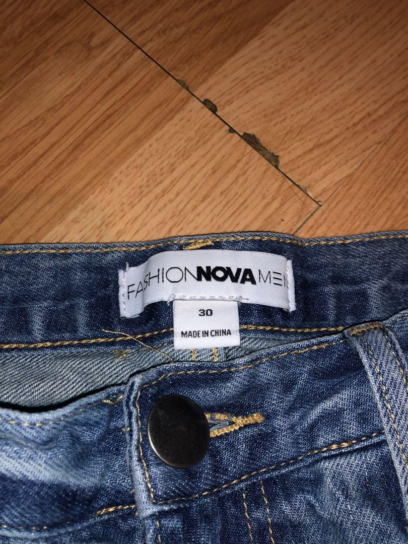 Men's fashion nova jeans