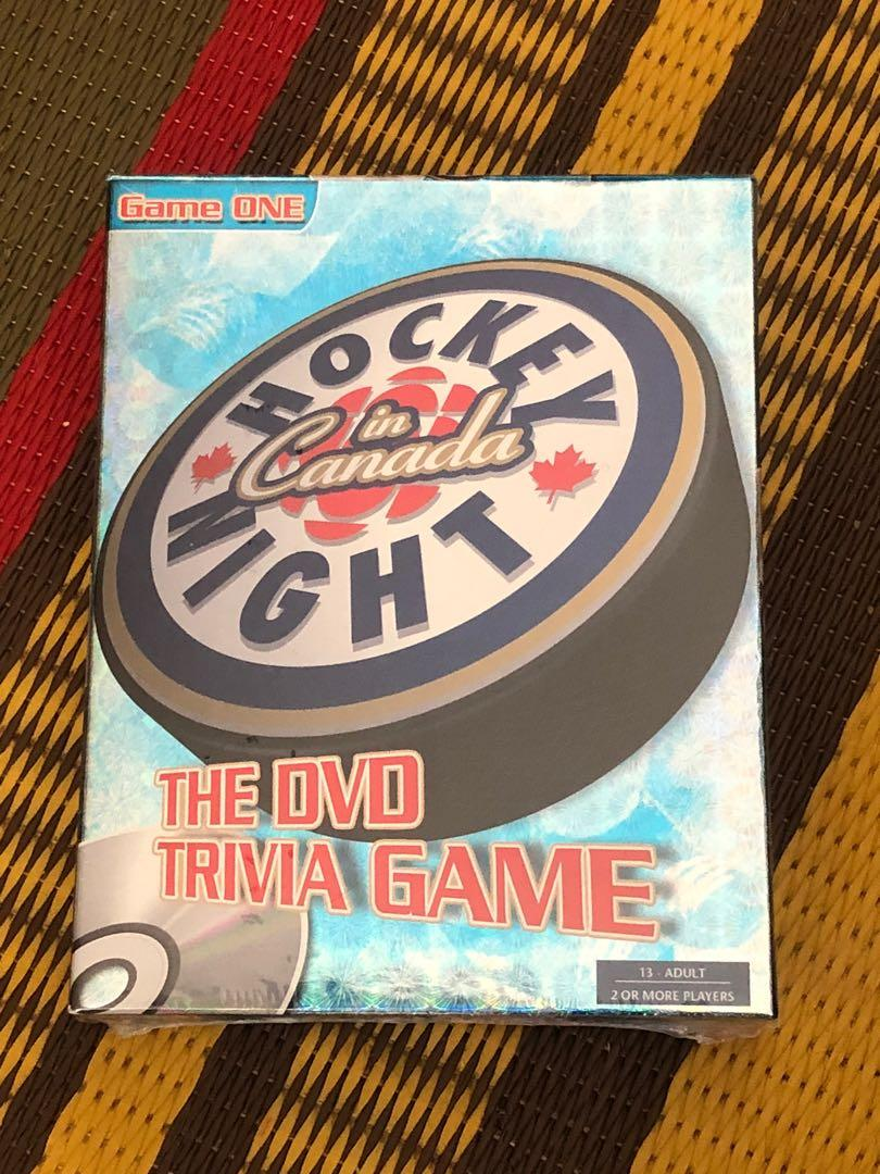 NEW Vintage Hockey Night in Canada DVD Trivia Game