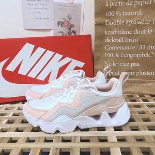 Nike ryz365 珊瑚粉鋸齒增高球鞋US6.5