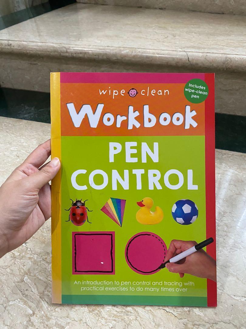 Preloved wipe n clean book