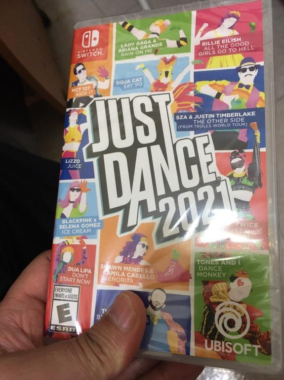 switch遊戲 JUST DANCE 2021 舞力全開(全新)