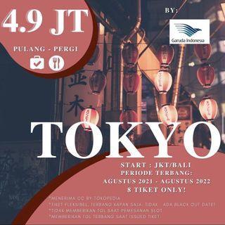TIKET GARUDA INDONESIA PP JAKARTA - TOKYO