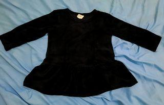 Velour Baby Dress by H&M
