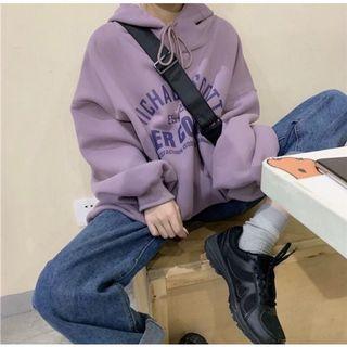 日系芋頭口味豪好吃✨✨ 大學T 衛衣 內刷毛 紫色系 帽T