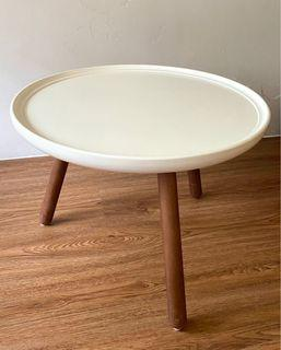 [二手/傢俱] YOI 雅尼 圓桌 茶几 矮桌 咖啡桌 邊桌 白色