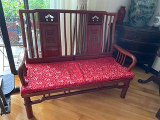 2 seater sofa Rosewood