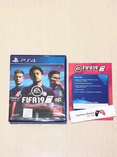 FIFA 19 BD PS4 Original Baru Region 3 + BONUS Contents + FREE Voucher Redeem Code