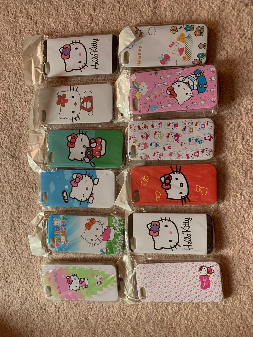 Hello Kitty iPhone 5/SE cases