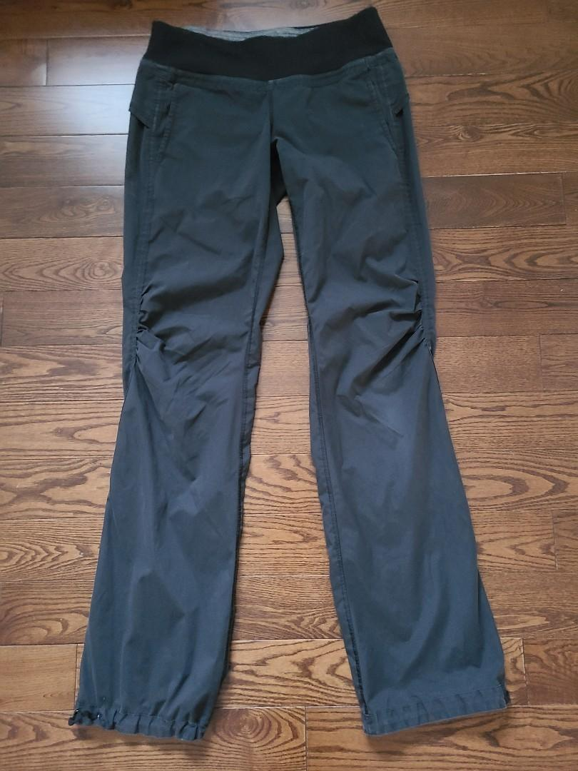 Lululemon Black Track Pants - Size 6