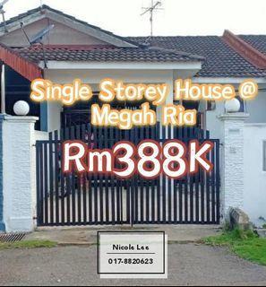 Megah Ria @ Single Storey House / Kitchen Extend
