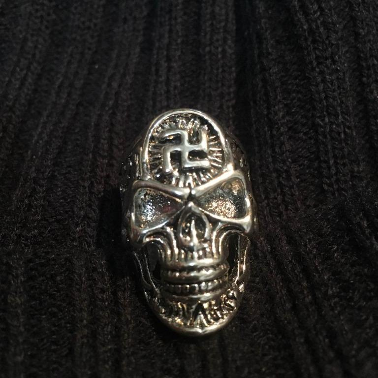 Men's Skull Bikers Ring