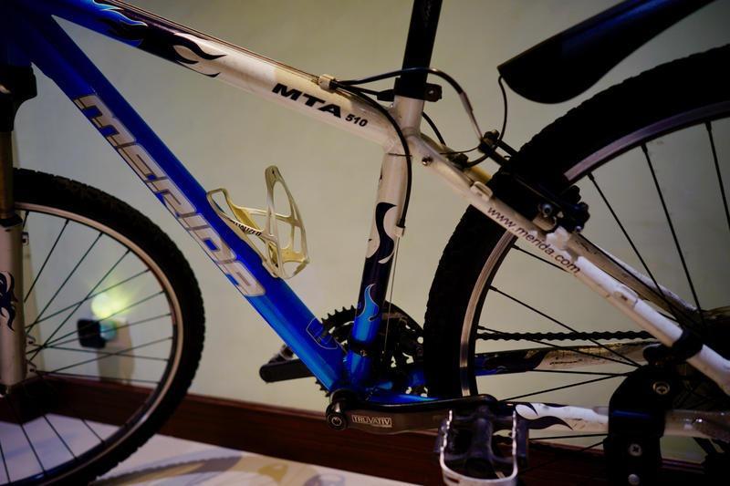 Merida 美利達 MTA510 27速 15吋 2010 藍白色 登山車 越野車 腳特車 自行車 9成新