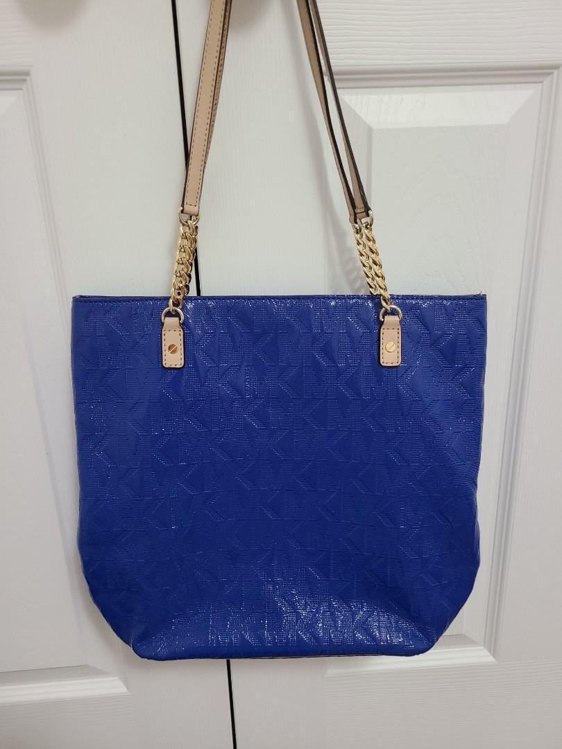 Michael Kors MK Blue Shoulder Bag