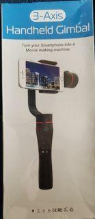 NEW 3 AXIS HANDHELD GIMBAL FOR MOBILE PHONES