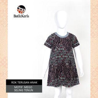 New / Preloved Batik Keris Kids / Anak Dress