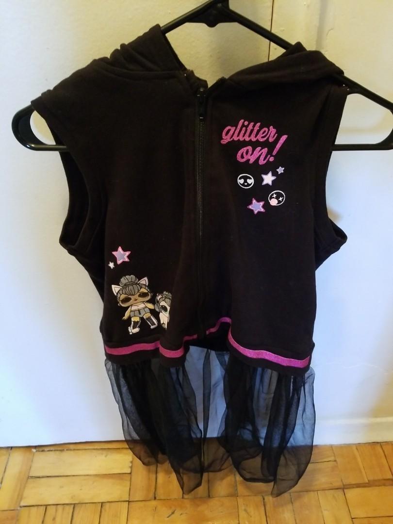 New) Size 14-16 Lol sleveless hoodie Girls