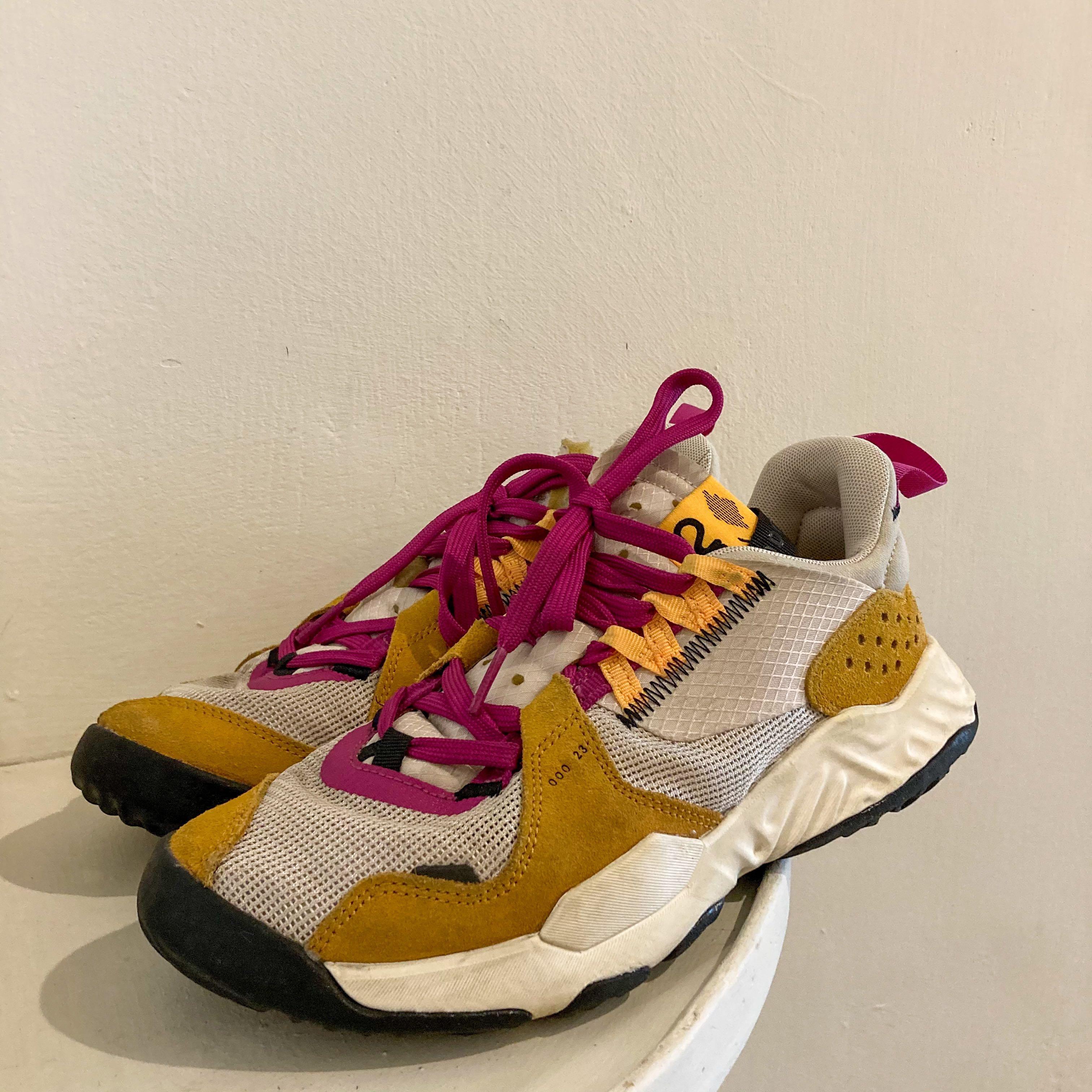 NIKE 運動鞋 Jordan Delta|卡其桃紅