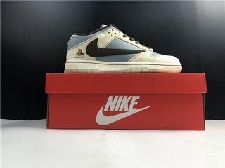 Nike Dunk Low SB TRAVIS SCOTT PS X DUNK LOW Shoes CU1726-800 Men Size EU40-47.5 US7-13