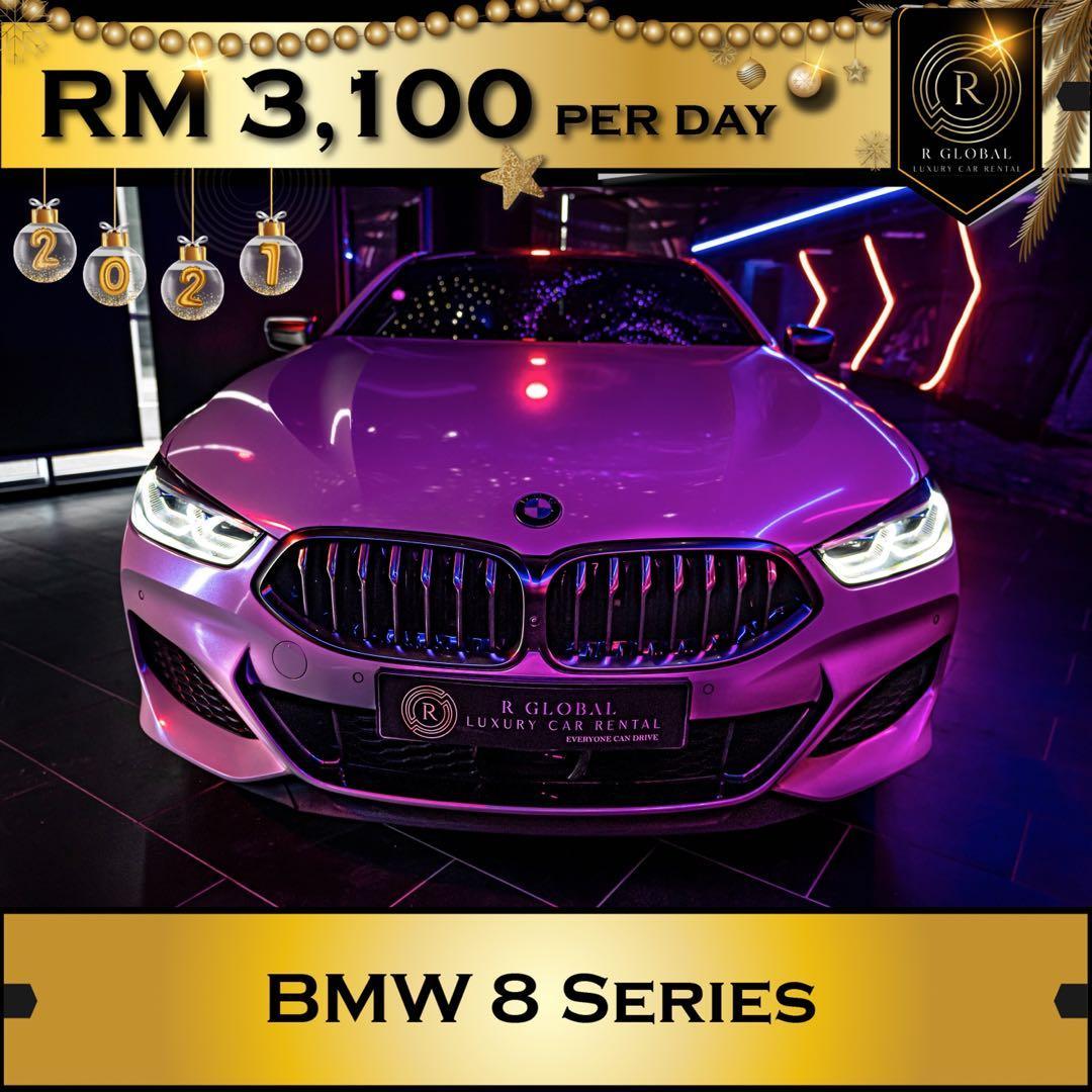 Rent a BMW 850i in Kuala Lumpur