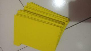 Sekat cupang bahan spons isi 30 pcs